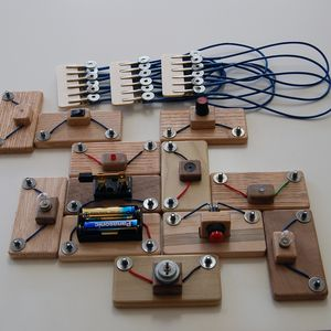 Large Circuit Blocks Set (With images) | Circuit, Led strobe