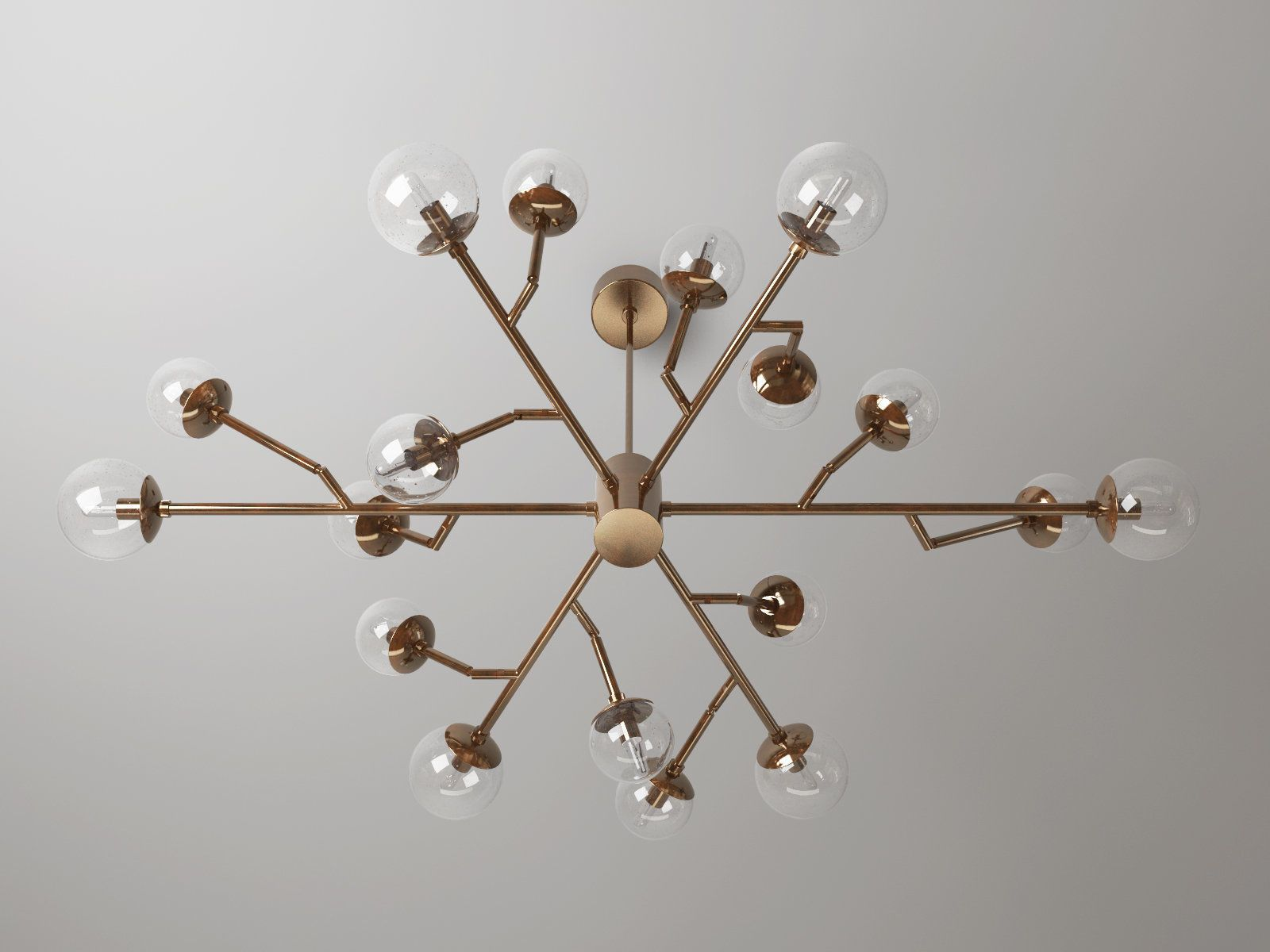 Dallas Chandelier 3D model