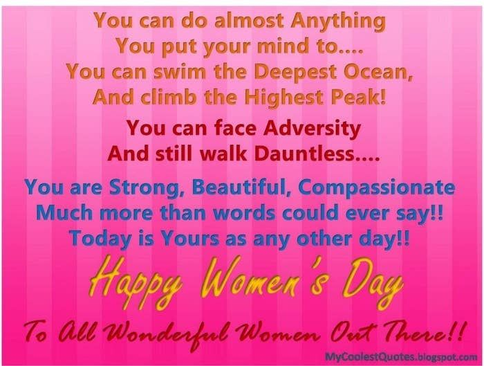 Stress Quotes Images 12 Ways To Wish Women On International Women's Day