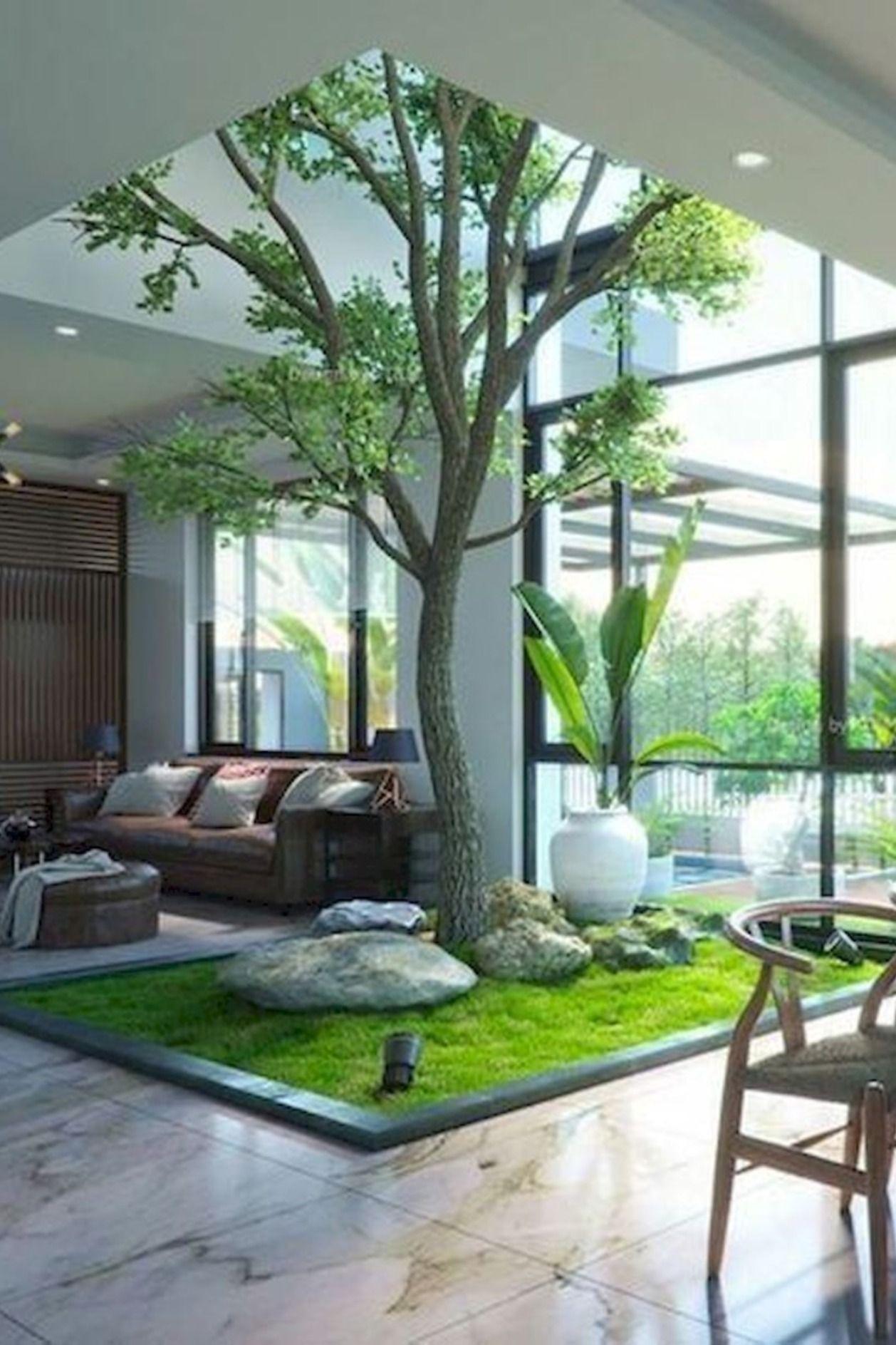Pin By Rooftopgarden On Indoor Garden Designs In 2020 Interior Garden House Interior Modern House Design