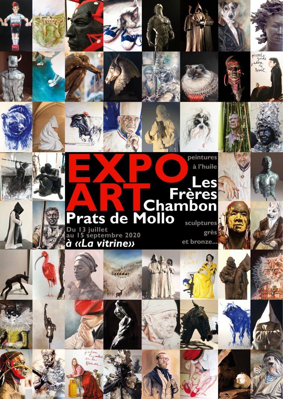 Exposition D Art Des Frères Chambon Art Exposition D Art Exposition