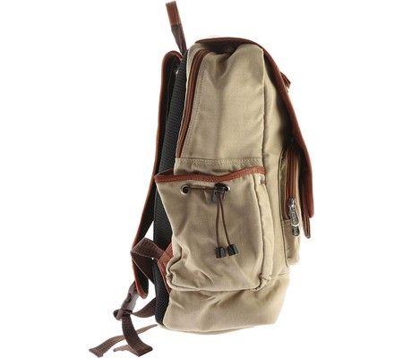 Piel Leather Multi-Pocket Travelers Backpack 3076 by Piel Leather in ... 19cbde596fbb6