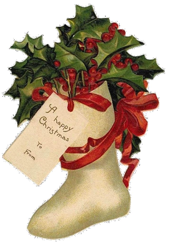 Мерцающие открытки, рождественские открытки с омелой