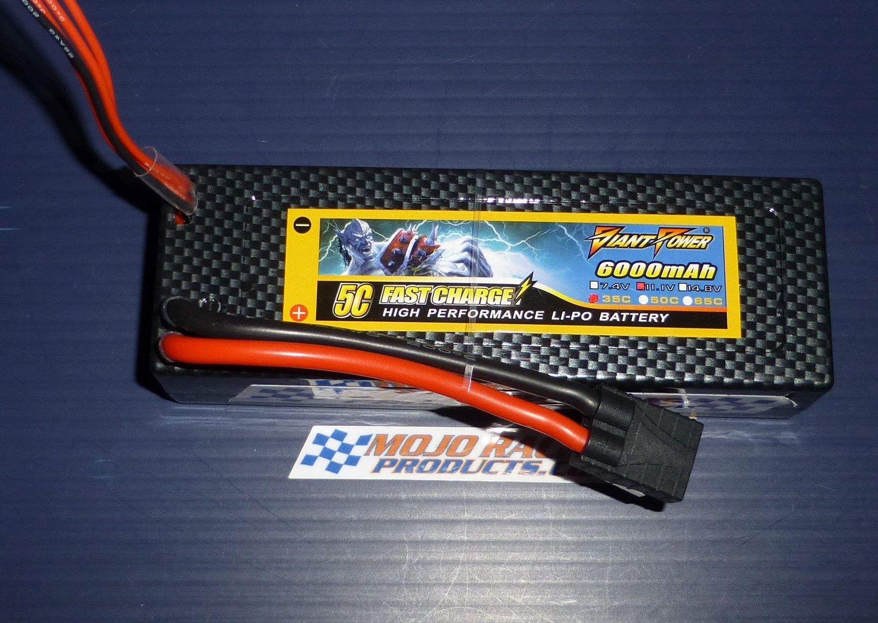 3S 11 1v 3 Cell 6000 mAh 35C 70C Performance Hard Case Traxxas Basher