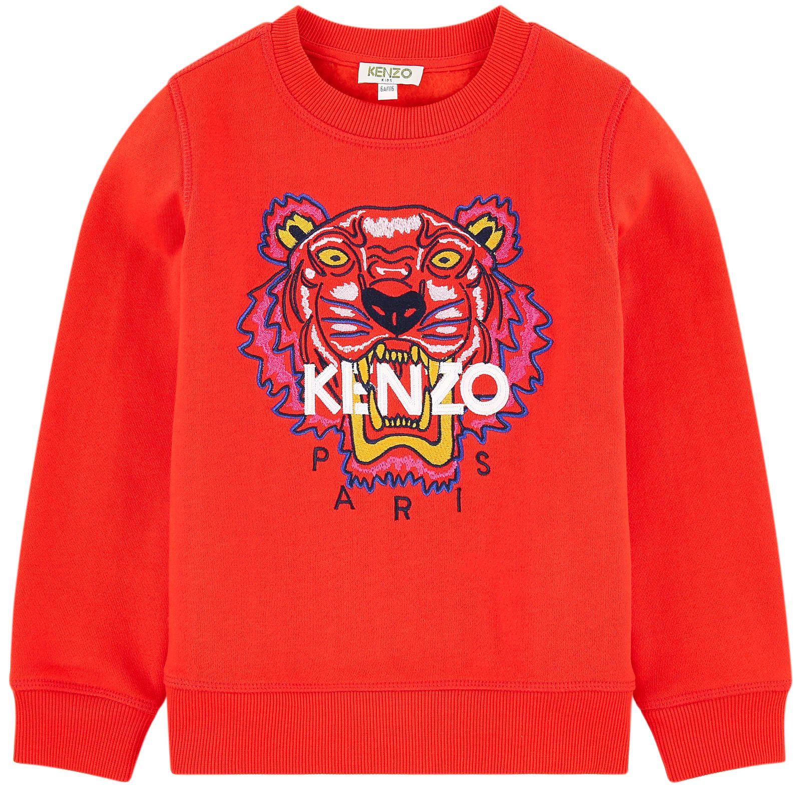96bcdc62841 Sweat Tigre Kenzo Kids pour fille
