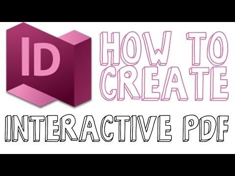 How To Create An Interactive PDF In Indesign - Indesign CC
