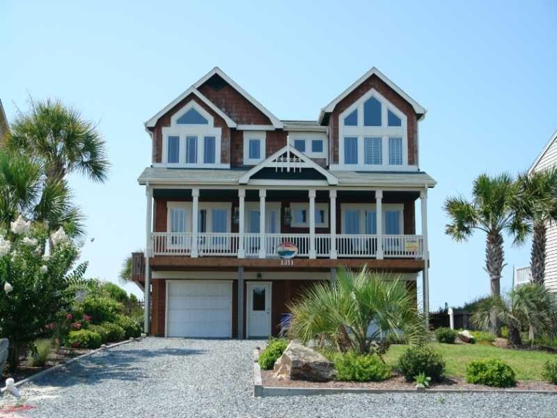Holden Beach Nc Beech To 1311 A 5 Bedroom Oceanfront Al House In