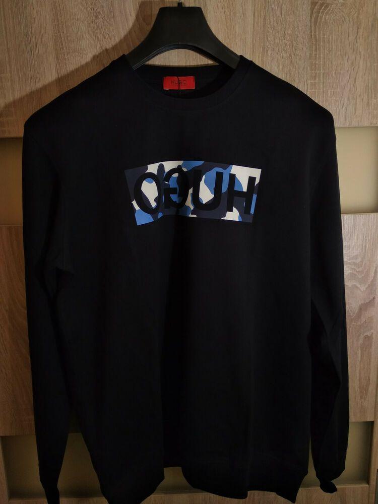 71fa0b02bc7 HUGO BOSS Dicago camo 3XL XXXL Men's jumper pullover sweatshirt ...