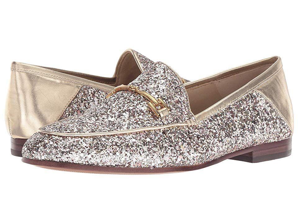 17a15fd9a8cb3 Sam Edelman Loraine (Molten Gold Chunky Glitter) Women s Dress Sandals. The  lovely Loraine