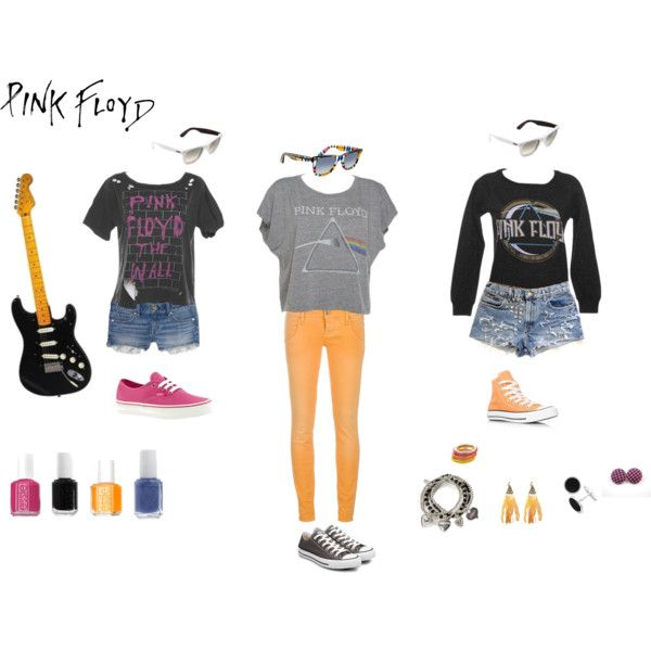 Pink Floyd ♥, created by gonnamakeyousting on Polyvore