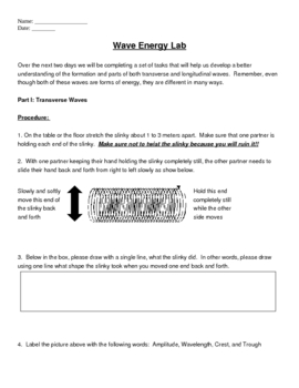 Waves Review Worksheet Answer Key