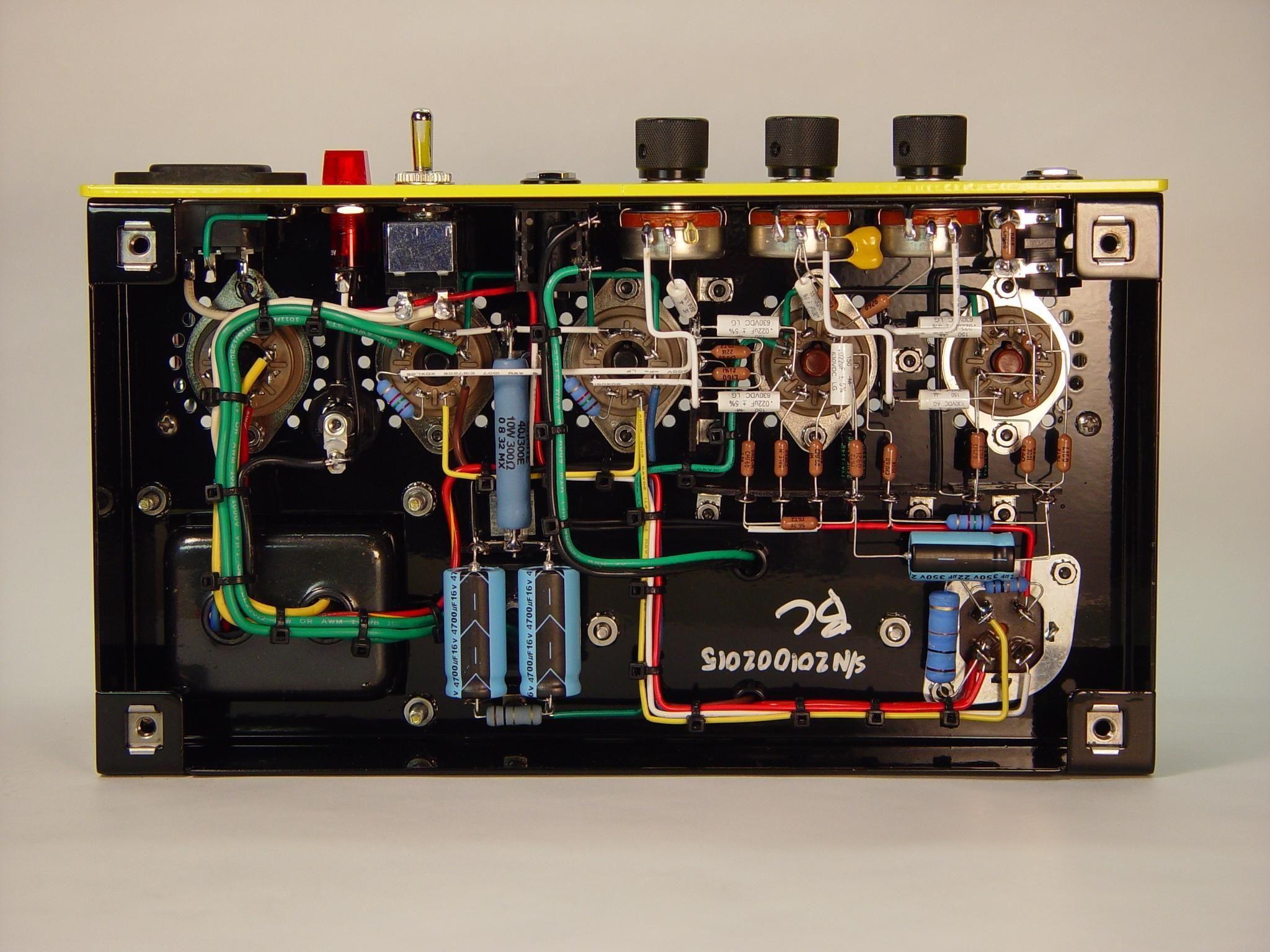 medium resolution of clean point to point wiring guitar amp recherche google