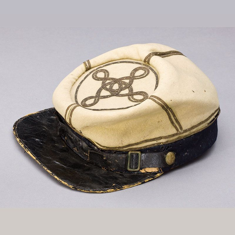 Civil War Embroidered Hat Patch CS Large-New