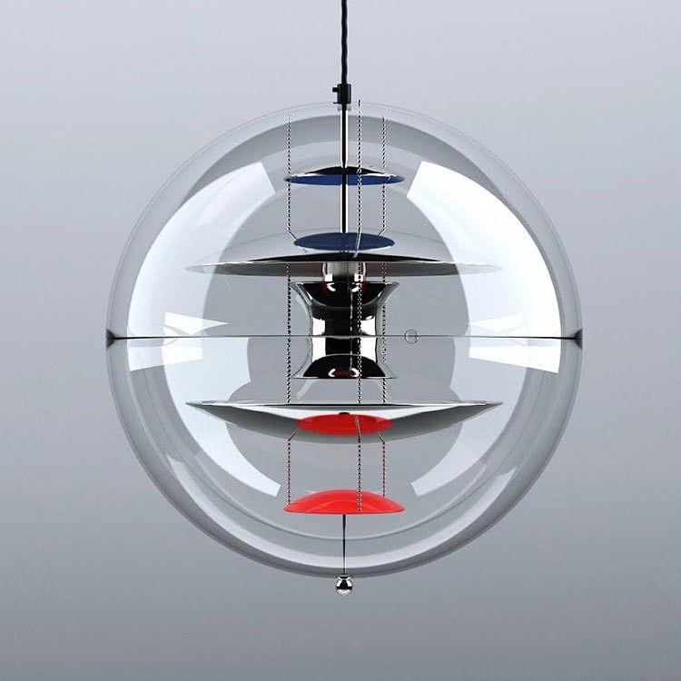 Aliexpress Acheter Designer pendentif s allume lustres en verre