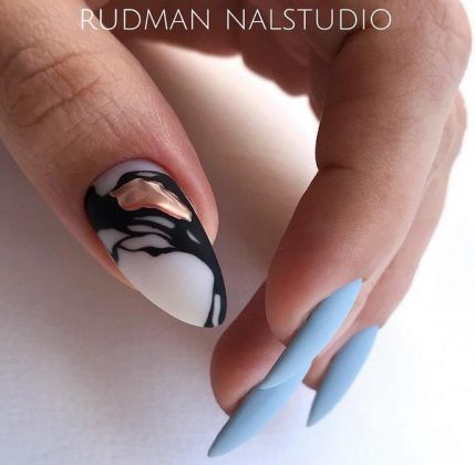 winter manicure 20202021 trendy winter nail art design