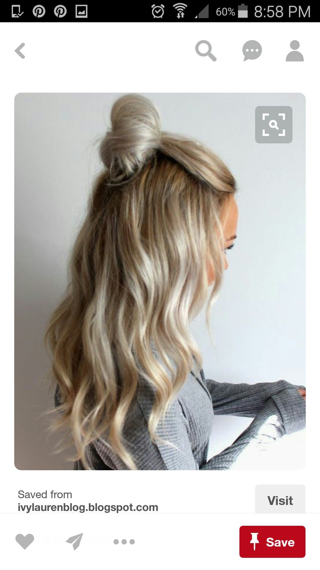 Pin by hayley galleozzie on ombre hair Pinterest