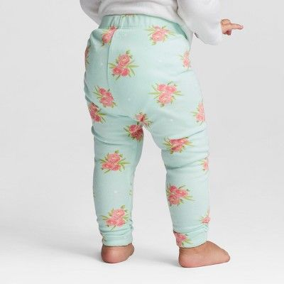 eabef2d4b7a1a Baby Girls' 3pk Pants Cloud Island - Mint/Blue 6-9M | Products ...