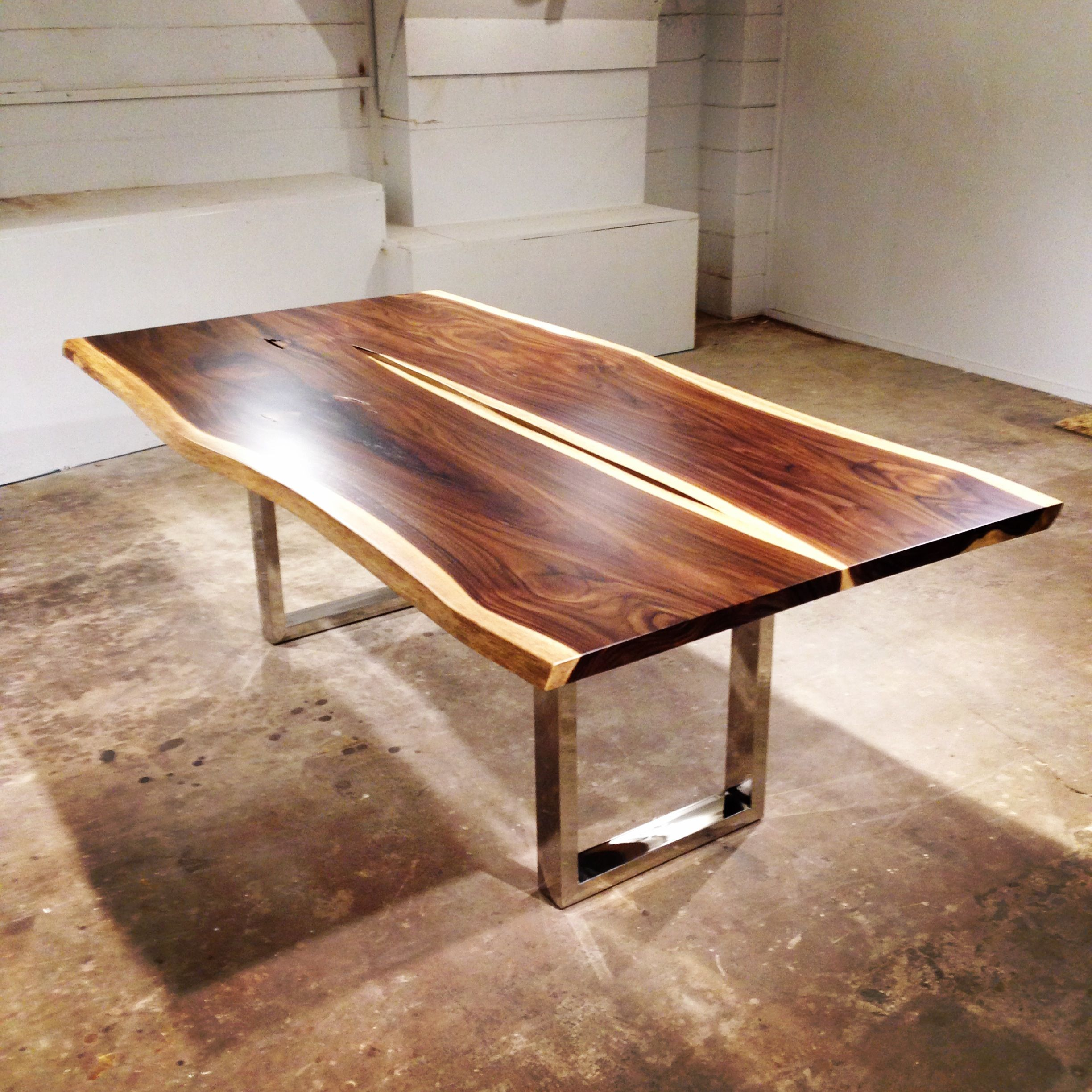 Just Out Of The Wood Shop This Dining Table Is Made From A Book