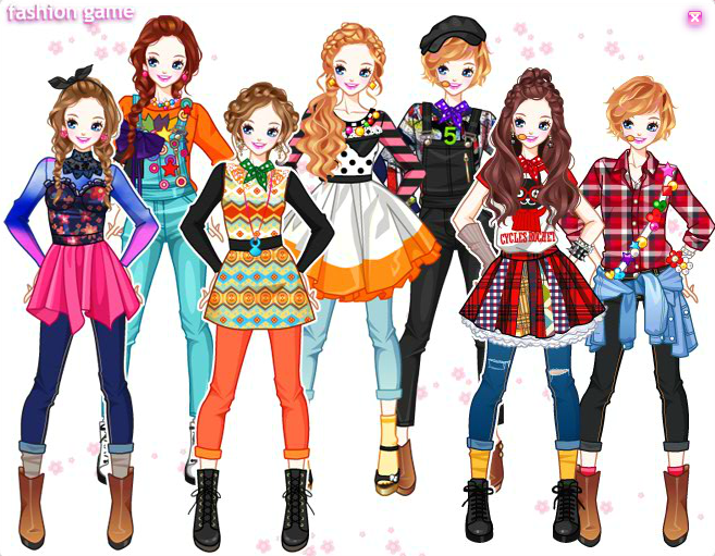 Daum Idols Dress-up games | Trendy clothing in 2019