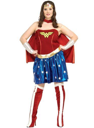 Déguisement de Wonder Woman grande taille