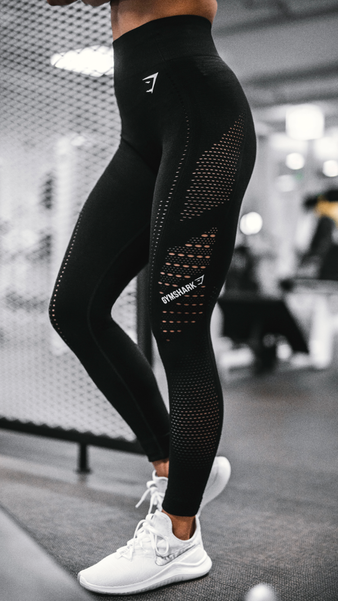 646738ba3e1b9 The Flawless Knit Leggings, Black. A fresh look for your staple workout  favourite. #Gymshark #Gym #Sweat #Train #Perform #Exercise #Strength  #Strong #Power ...