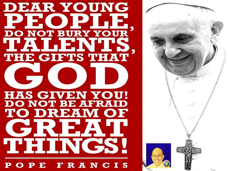 Pope Francis message to young people! Pope francis