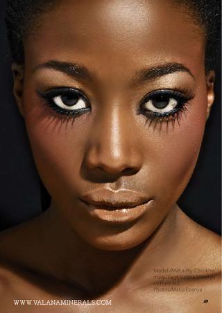El Maquillaje #Nude no es exclusivo para las blancas. También para pieles oscuras ->