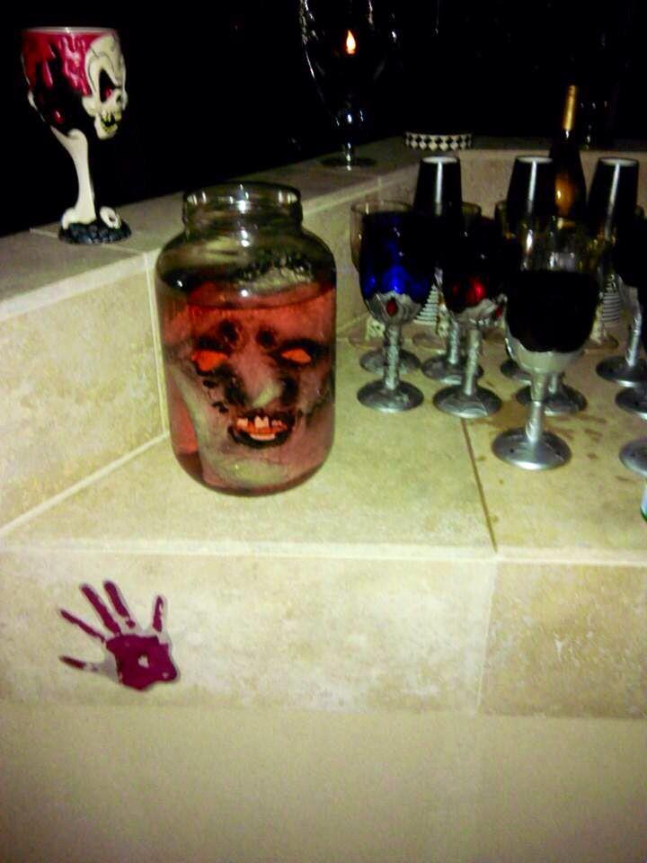 Halloween bar prop Halloween party ideas Pinterest Halloween