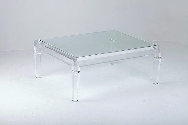 Perspex Coffee Table Acrylic