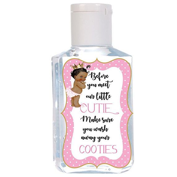 Purell Hand Sanitizer Labels Germ X Hand Sanitizer Baby Shower