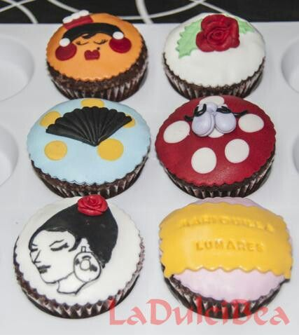 Cupcakes para la tienda Mariquilla Lunares