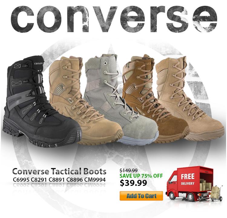 fabfa627045e46 Converse Tactical Boots LIMITED Sale!  39.99  Botach  Tactical   BotachTactical…