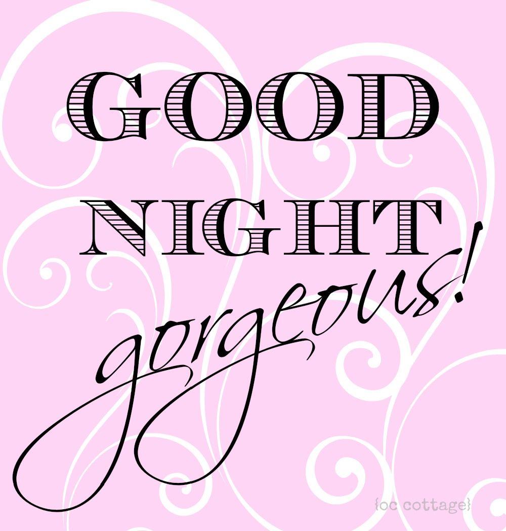 good night sleeping beautiful - photo #4