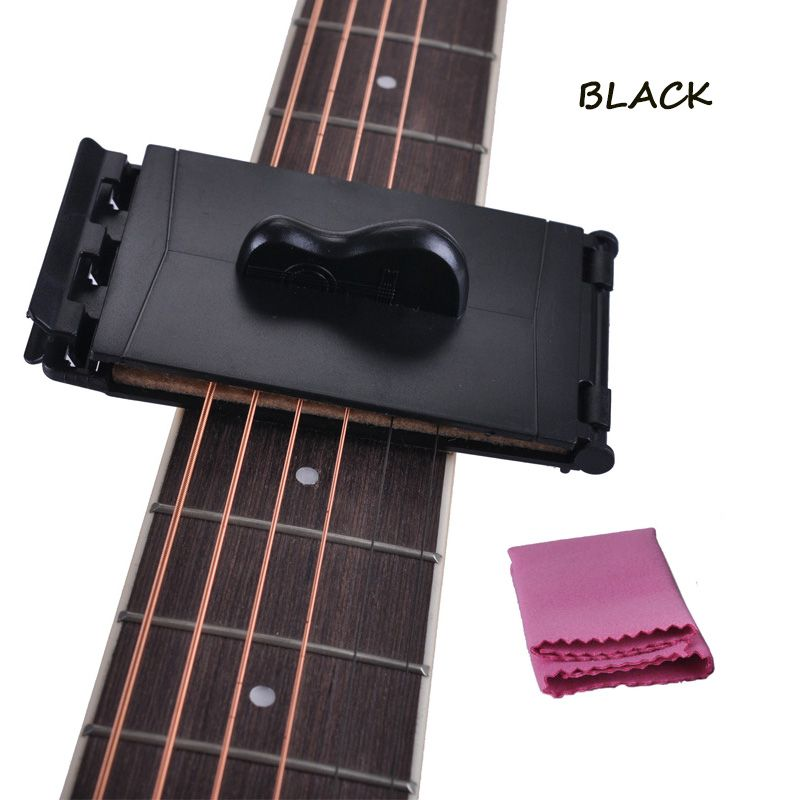 Electric Guitar Bass Strings Scrubber Fingerboard Rub Cleaning Tool Maintenance Care String Cleaner Guitar Accessories Musical Instruments Sports & Entertainment