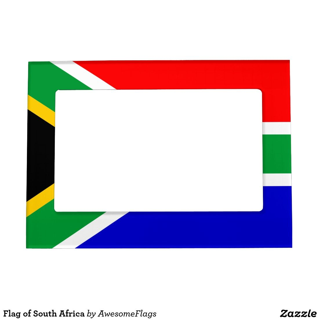 Flag of South Africa Magnetic Picture Frame | Flags in the Kitchen ...