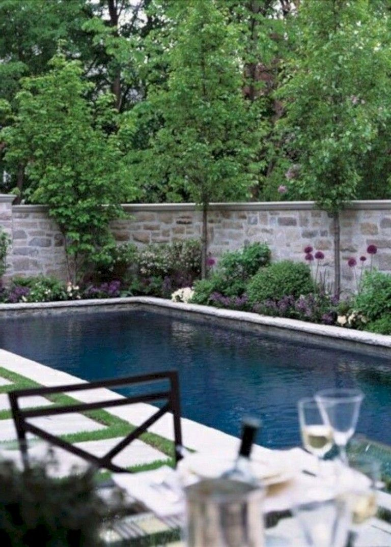 10 Decorating Minuscule Pool On Your Backyard Garden Pool Landscaping Swimming Pool House Backyard Pool