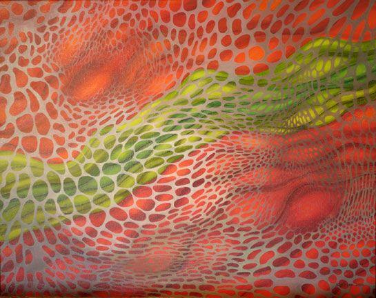 Kristin Moro. Oil on canvas.