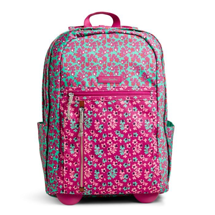 9178a3341a71 This favorite backpack style is offered with wheels! The straps tuck away  when not in use