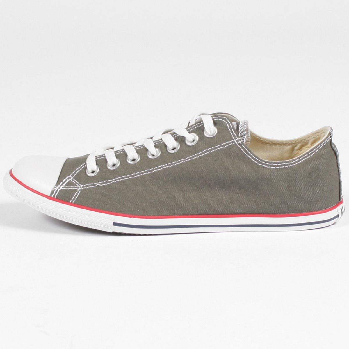629e28b487050d Converse Slim Chuck Taylor Low Top Shoes in Charcoal (113896F ...