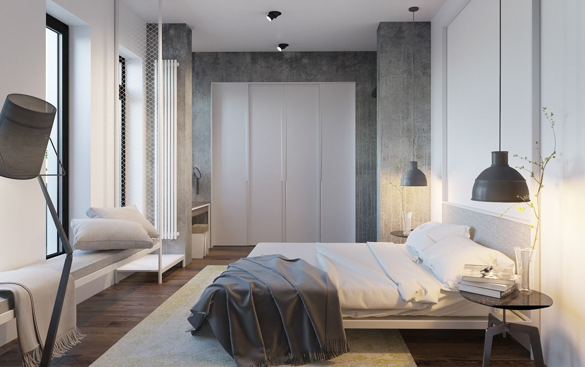 6 Master Suits To Inspire You Modern Minimalist Bedroom Modern Bedroom Minimal Bedroom Design Minimalist bedroom design concept
