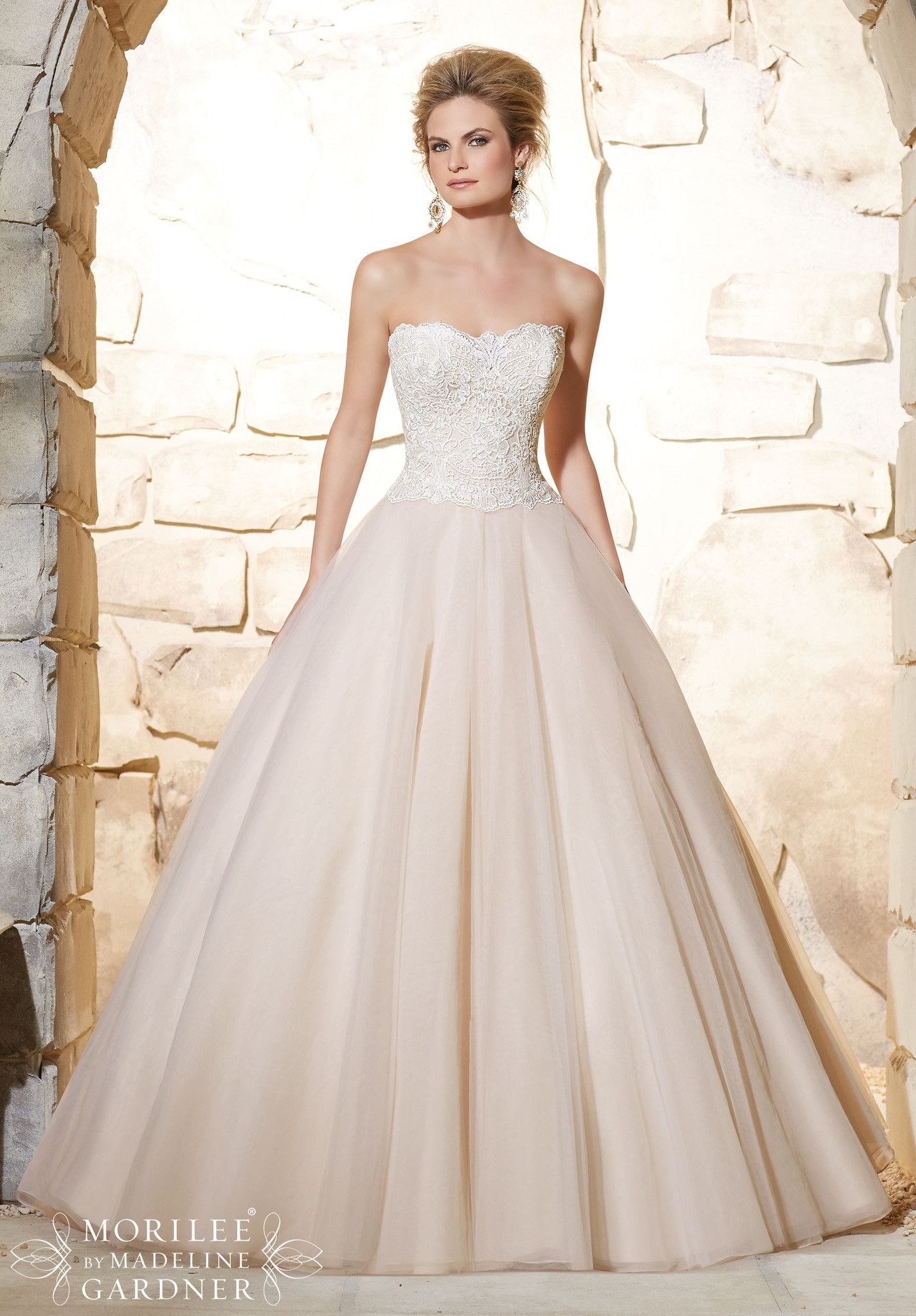 Mori lee all dressed up bridal gown