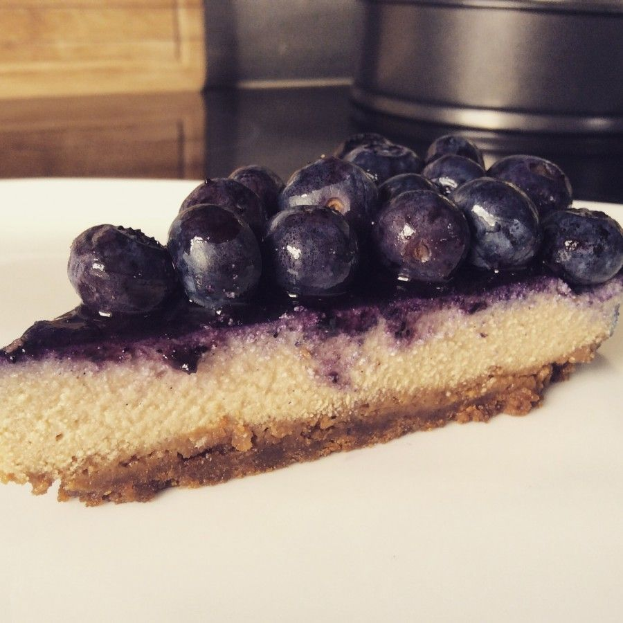 Cheesecake végétalien speculoos et myrtilles | Cheesecake ...