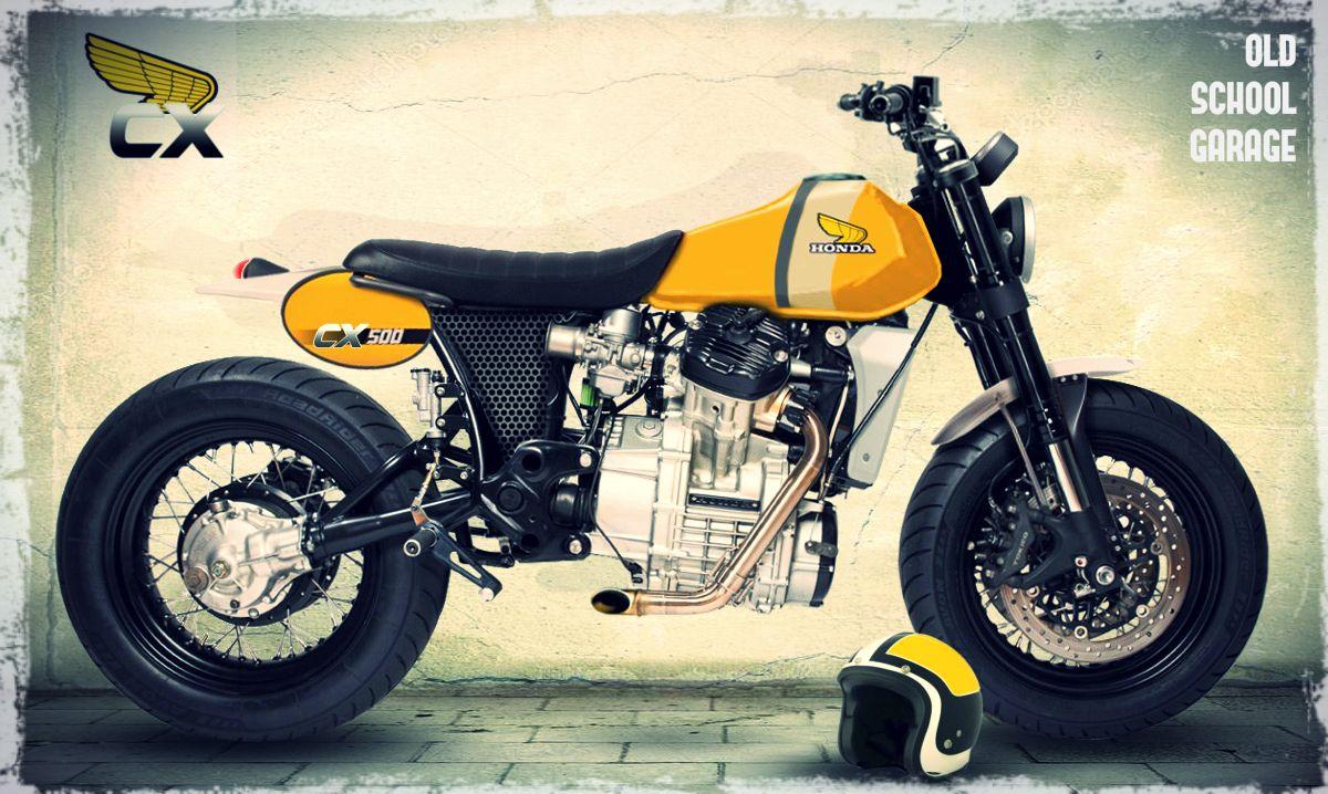 #HONDA MOTORCYCLES#CX500#SPECIAL SCRAMBLER#CAFE RACER#OLD SCHOOL GARAGE-