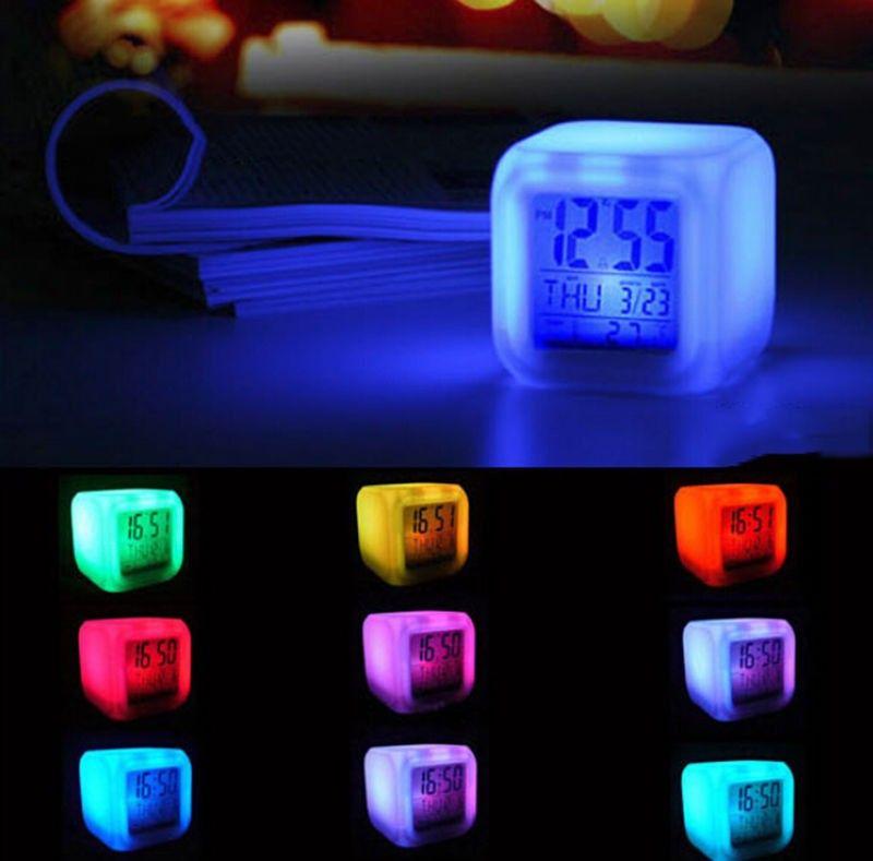 Barato 7 cor da luz de fundo LED relógio Digital Snooze grande Modern Digit mesa, Compro Qualidade Despertador diretamente de fornecedores da China: 7 Color LED 1.5L Ultrasonic Home Aroma Humidifier Air Diffuser Purifier Lonizer AtomizerUSD 40.99/pieceColorful LED Ligh