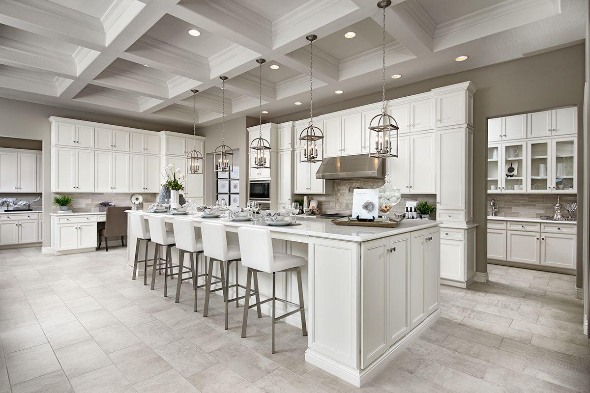 Robert model home kitchen in Phoenix, Arizona | Richmond American ...