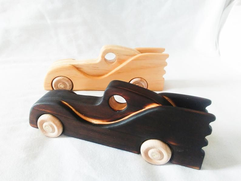 Wooden Toy Batmobile Handmade Child S Toy With An All Natural