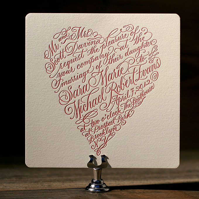 heart themed wedding style ideas wedding invites pinterest
