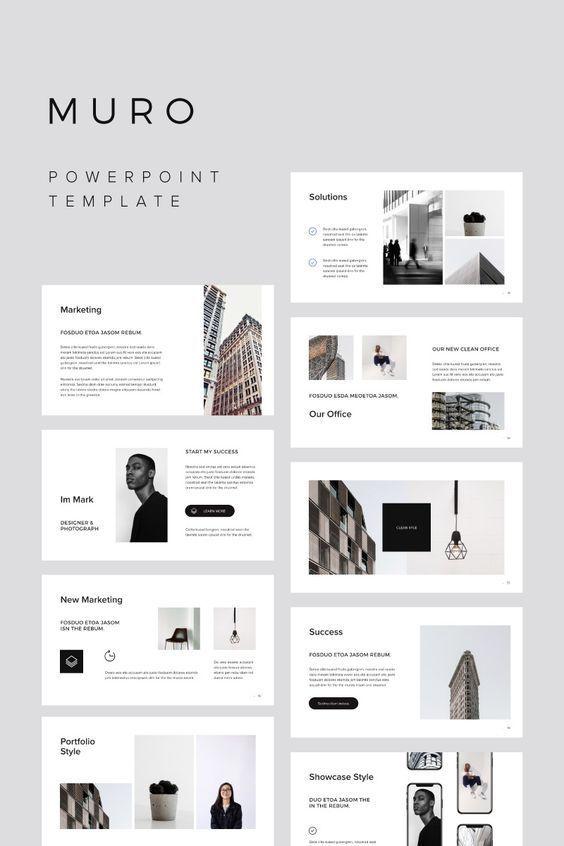 MURO Powerpoint Template Bonus