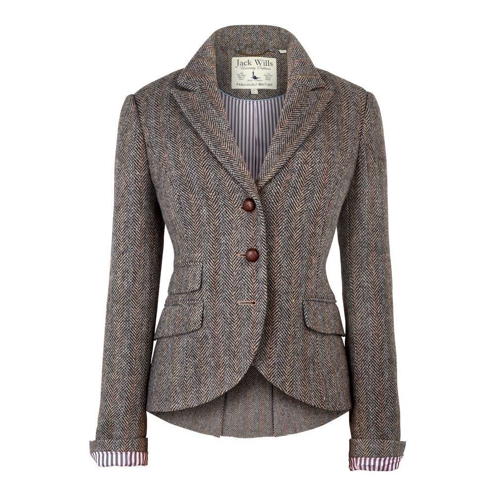Otterbury Blazer - Jack Wills - football buttons and striped lining