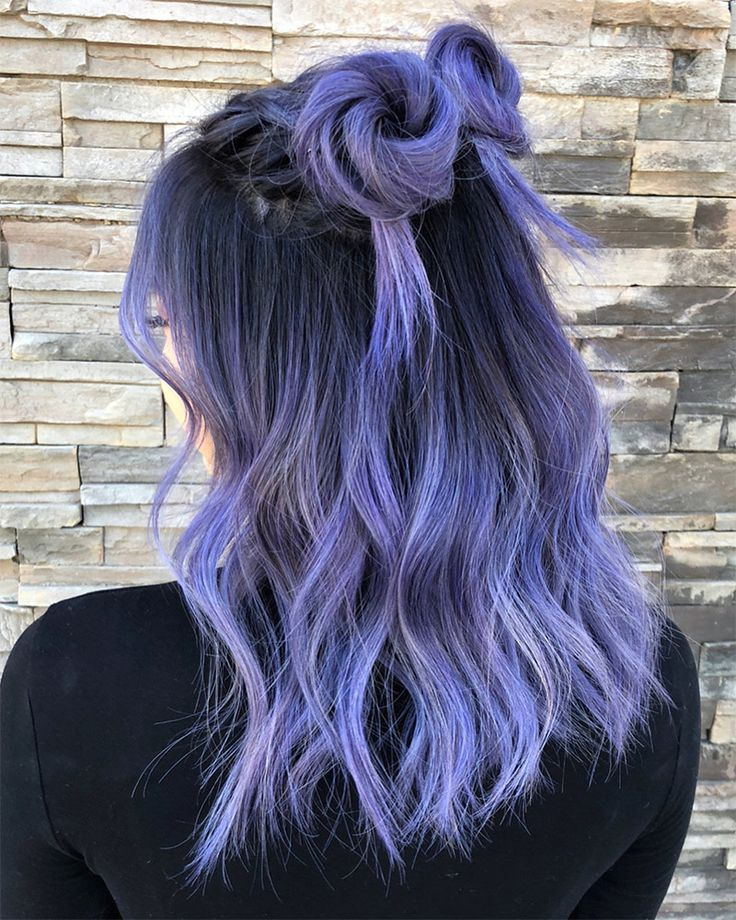Periwinkle Hair Color Is The Newest Hair Trend Gallery